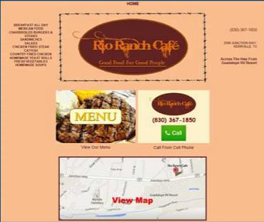 Rio Ranch Cafe - Kerrville, TX