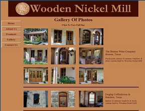 Wooden Nickel Mill - Center Point, TX