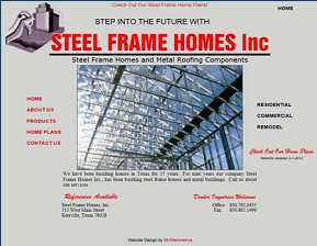 Steel Frame Homes Inc. - Kerrville, TX