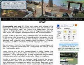 River Run Cabins - Hunt, TX